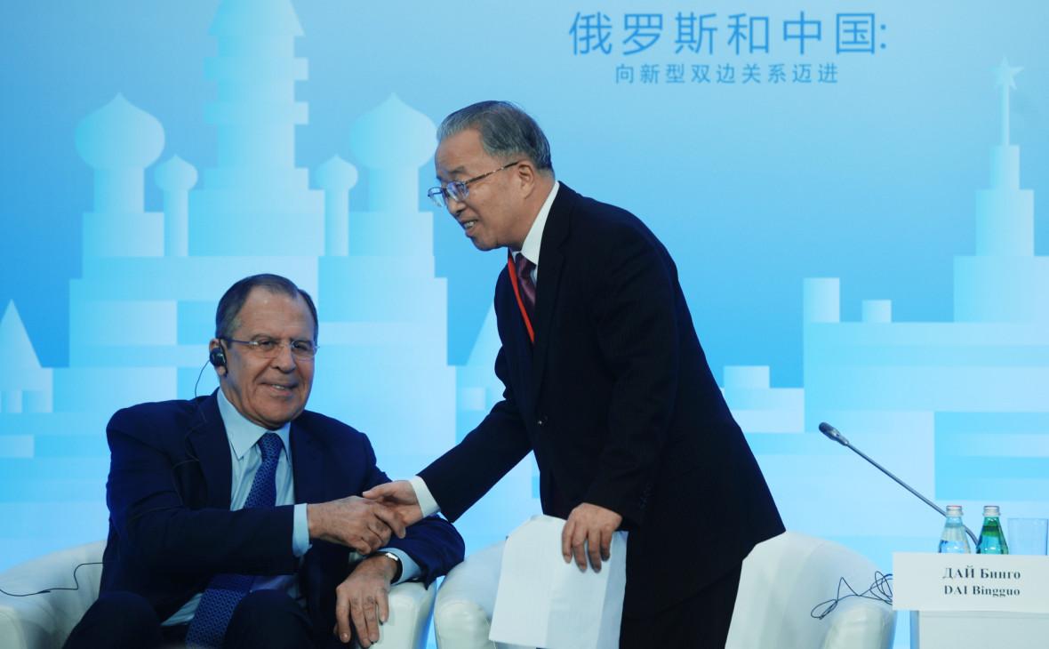 Лавров нашел ответственных в раскручивании «мифа о китайской угрозе»