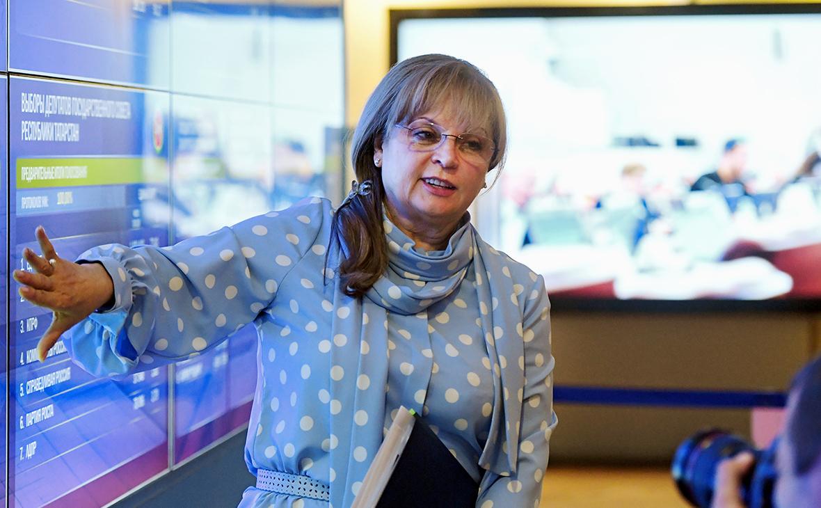 Памфилова допустила онлайн-голосование в Москве по Конституции