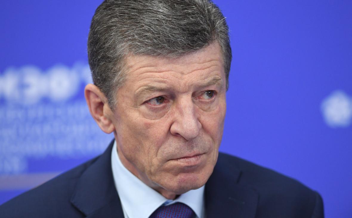 Козак сообщил о переданных в конверте предложениях молдавского олигарха