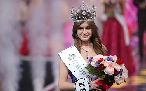Победительница конкурса красоты «Мисс Россия 2019» 20-летняя Алина Санько