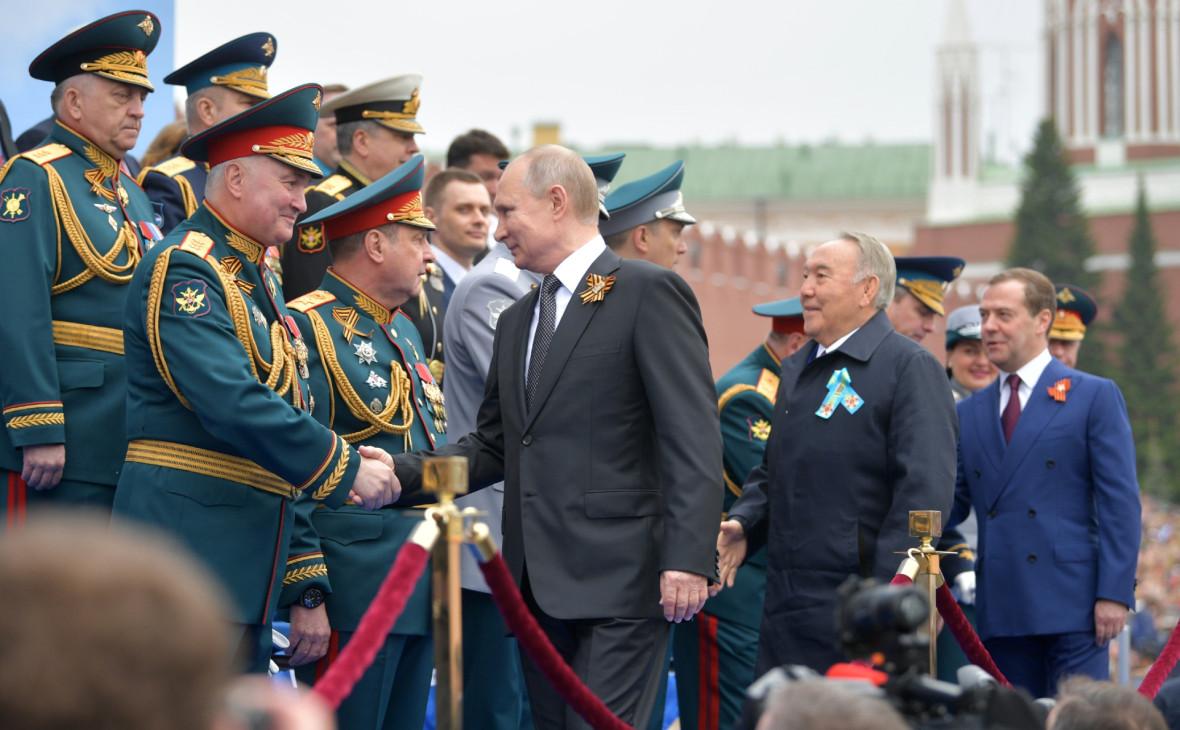 Путин в поздравлении на 9 Мая назвал СССР «главным освободителем Европы»