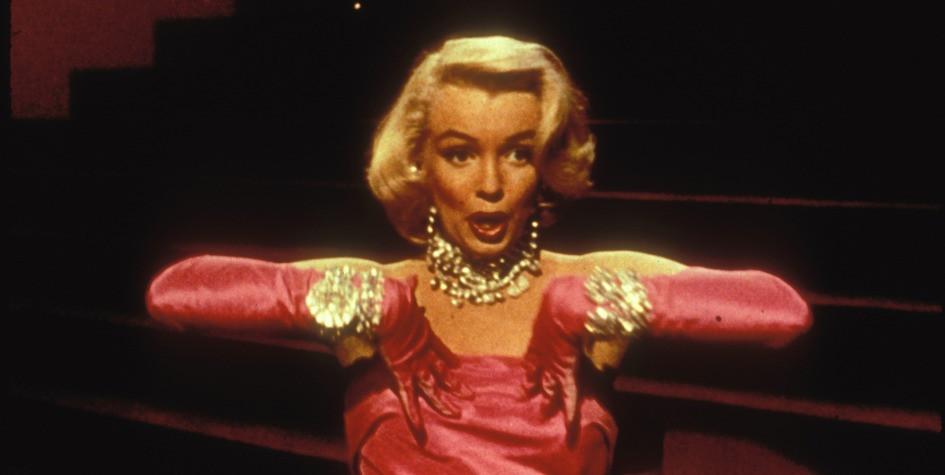 Мэрилин Монро вкинофильме 1953 года «Джентльмены предпочитают блондинок»
