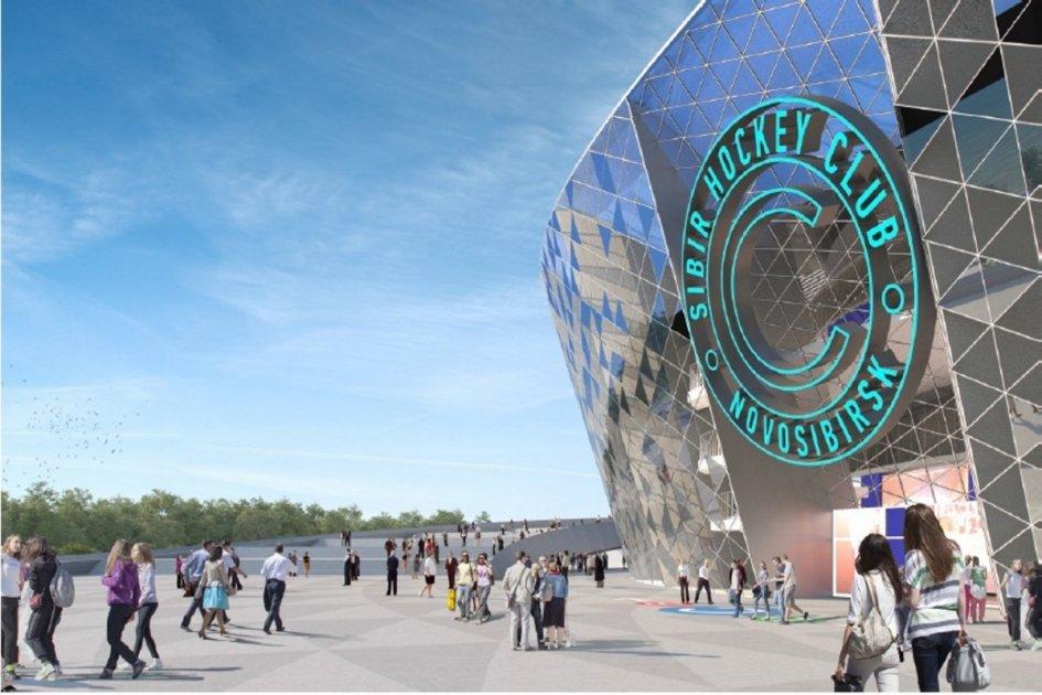 Стоимость сметной документации ледовой арены в Новосибирске увеличилась