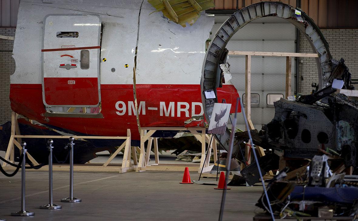 Обломки рейса MH17