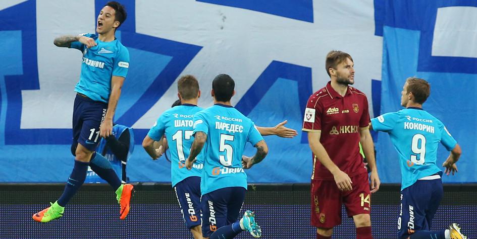 Дубль Дриусси принес «Зениту» победу в первом домашнем матче сезона