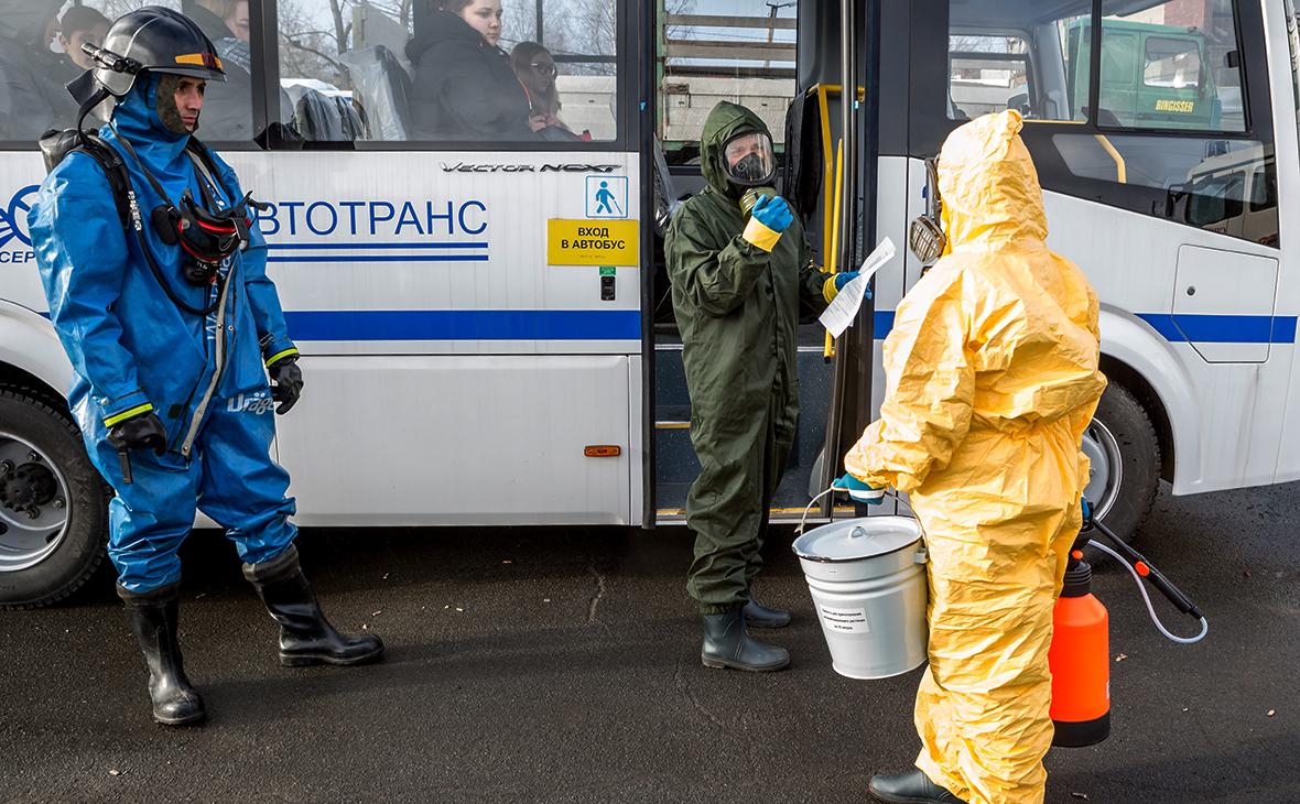 Địa phương đầu tiên ở Nga dừng giao thông công cộng để chống COVID-19