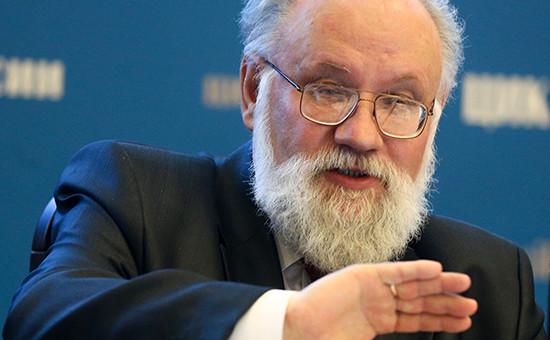 Глава Центризбиркома Владимир Чуров