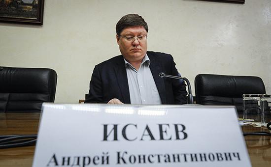 Председатель комитета ГД по труду Андрей Исаев