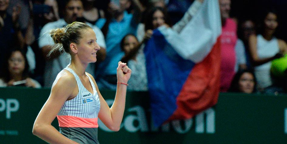 Плишкова вышла в полуфинал Итогового турнира WTA