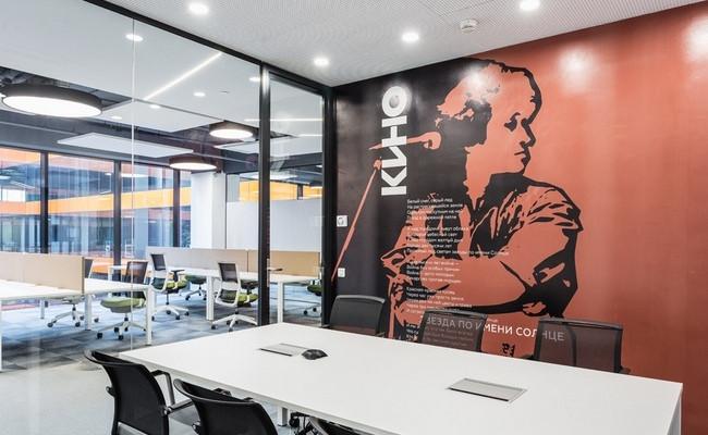 Дизайн офиса Сбербанка разработала архитектурная студия IND Architects