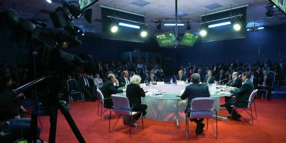 В рамках ПМЭФ-2017 прошла панельная дискуссия «Экономика 1000 городов»