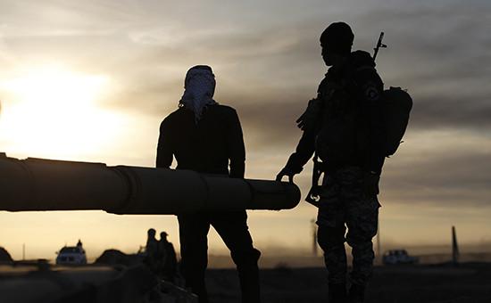 Боевики запрещенной в России группировки «Исламское государство»