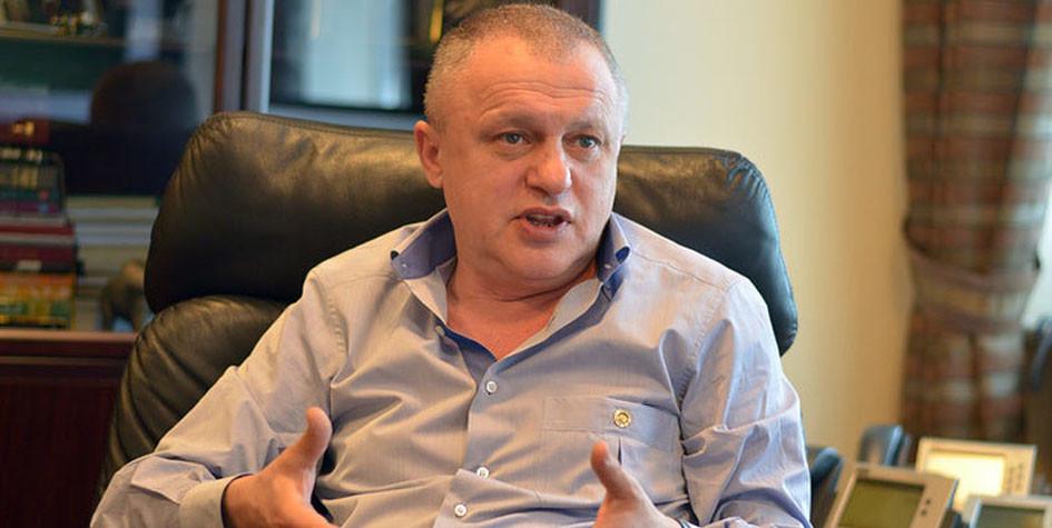 Президент киевского «Динамо» Игорь Суркис