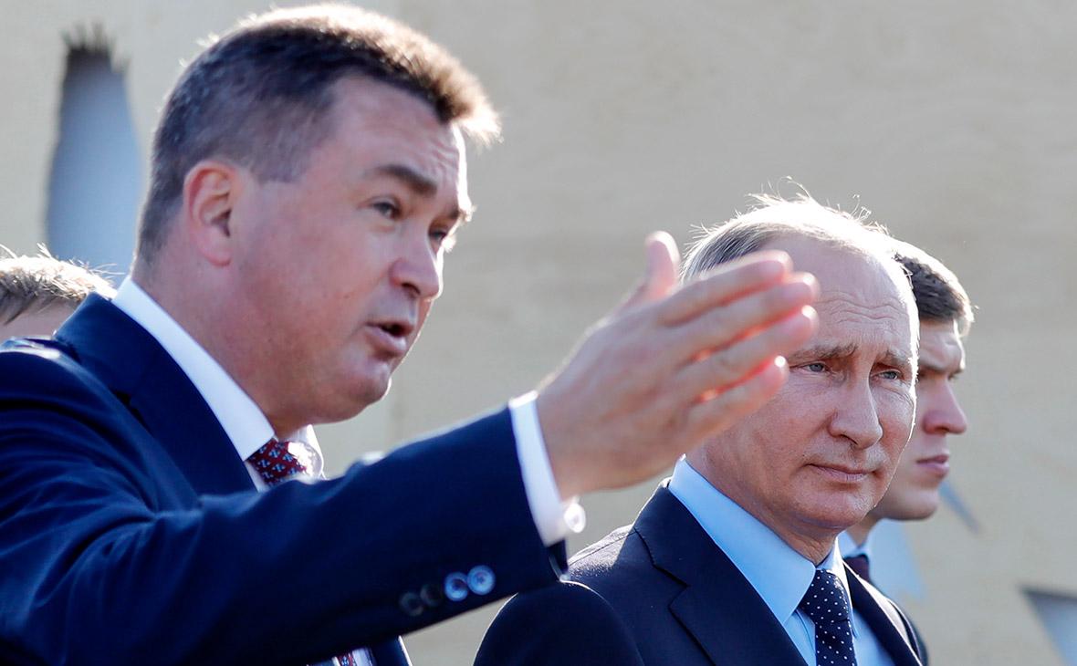 Владимир Миклушевский и Владимир Путин (слева направо)