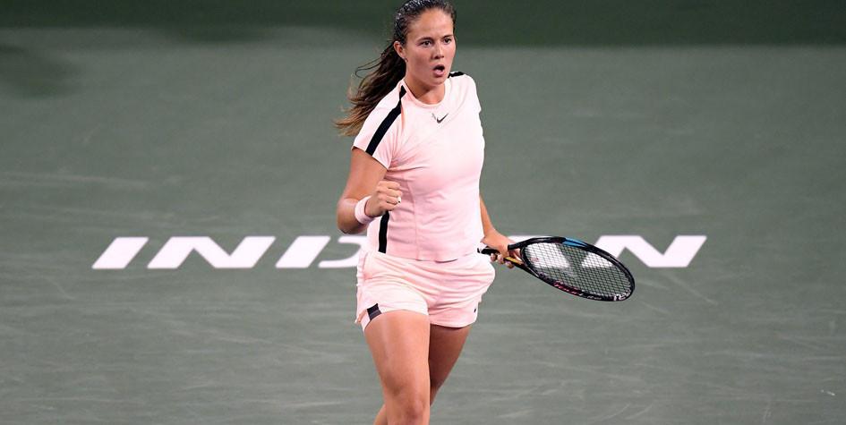 20-летняя российская теннисистка вышла в финал крупного турнира в США