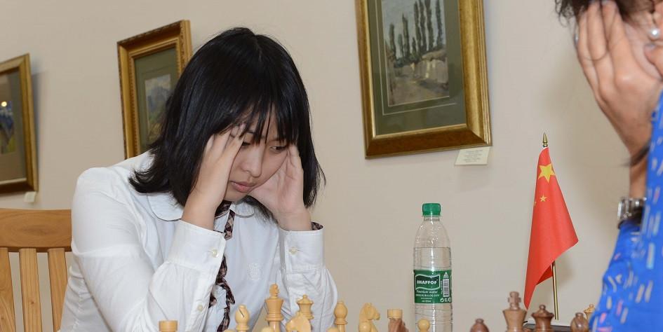 Китайская шахматисткаЦзюй Вэньцзюнь