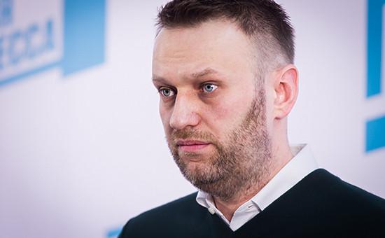 Глава ФБК Алексей Навальный