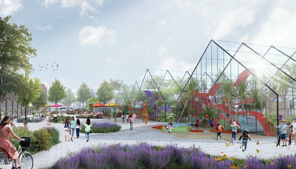 Проект реконструкции оранжерей Таврического сада