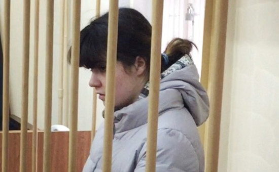 Студентка МГУВарвараКараулова(сменившая имя на Александру Иванову)