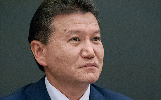Президент Международной федерации шахмат (ФИДЕ) Кирсан Илюмжинов