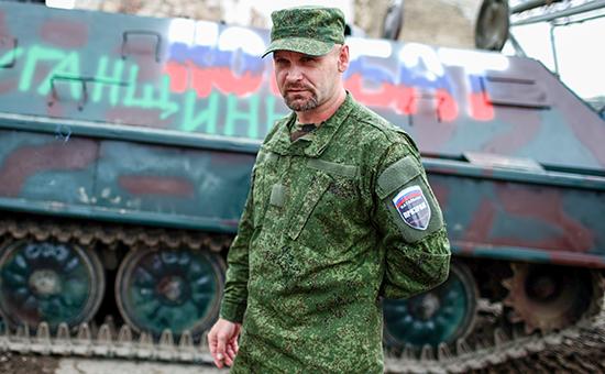 Командир бригады ополченцев ЛНР «Призрак» Алексей Мозговой