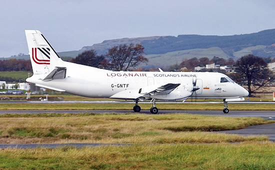 Самолет компании Loganair  Архивное фото Фото: Mark Harkin