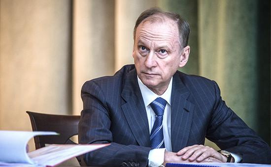 Секретарь Совета безопасности РФНиколай Патрушев