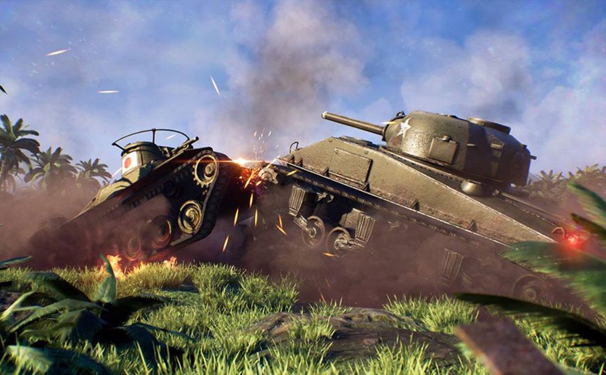 Кадр из игры «Strategic Mind: Blitzkrieg»