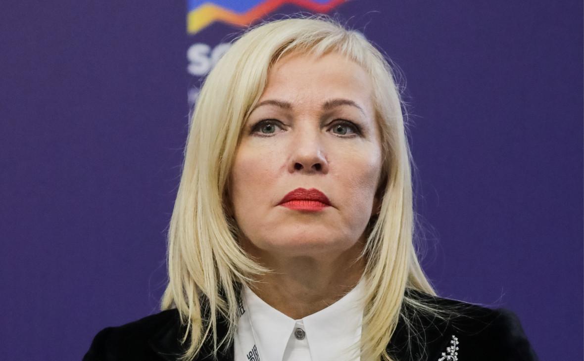 Глава Фонда развития моногородов, зампредседателя ВЭБа Ирина Макиева
