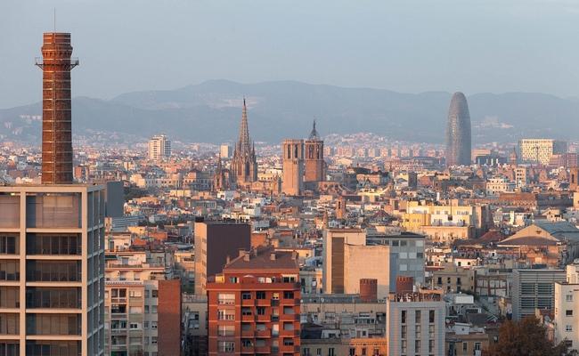 Барселона. Вид нагород
