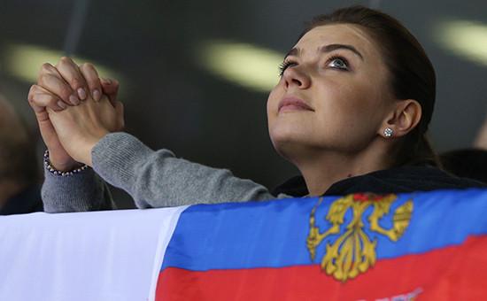 Олимпийская чемпионка Алина Кабаева