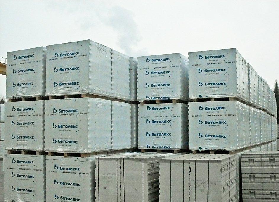 43 млн рублей — стоимость сохранившихся товарных запасов газобетона на «Бетолексе»