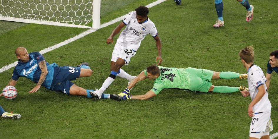 «Зенит» на последних минутах проиграл в первом матче Лиги чемпионов