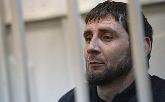 Подозреваемый в убийстве Бориса Немцова Заур Дадаев в Басманном суде