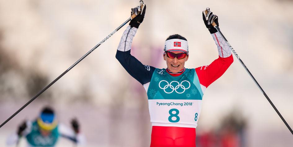 Норвежская лыжница побила рекорд по количеству олимпийских медалей