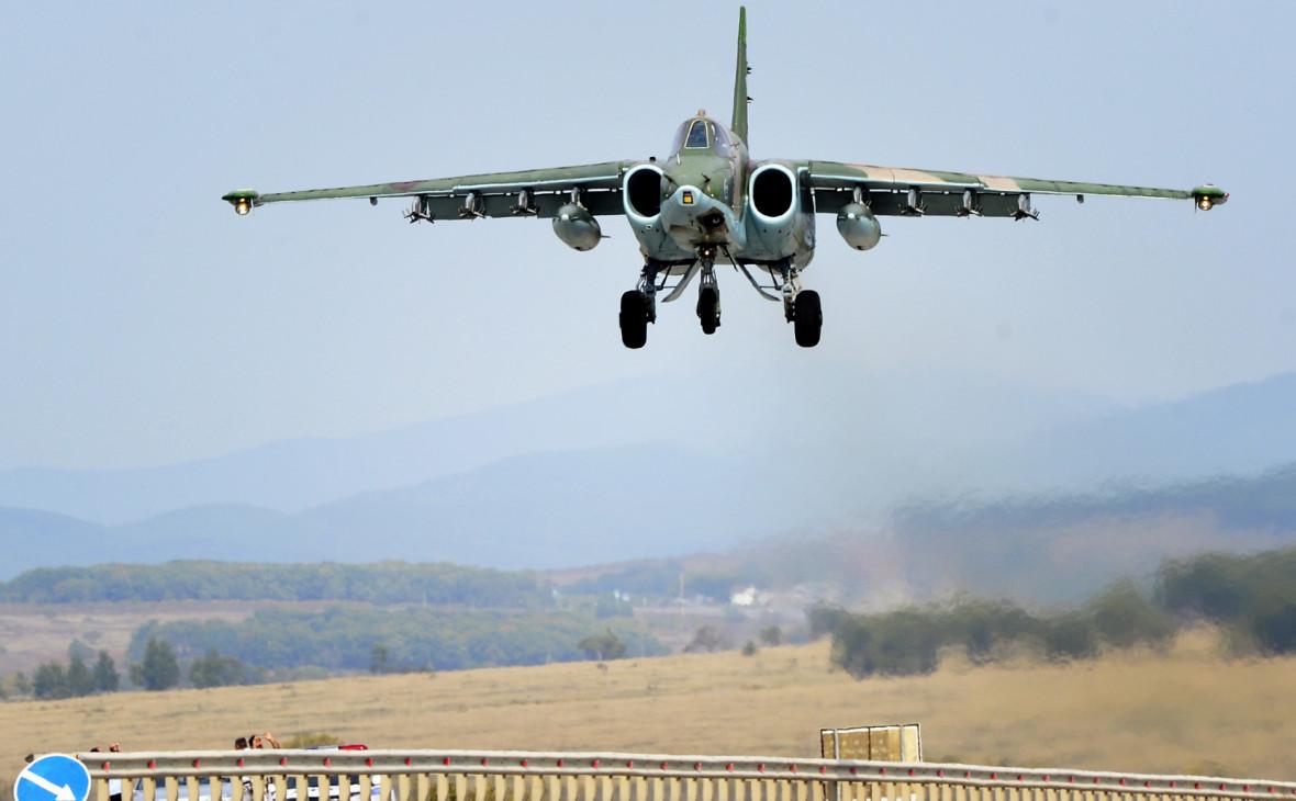 Минобороны Армении потеряло связь с Су-25