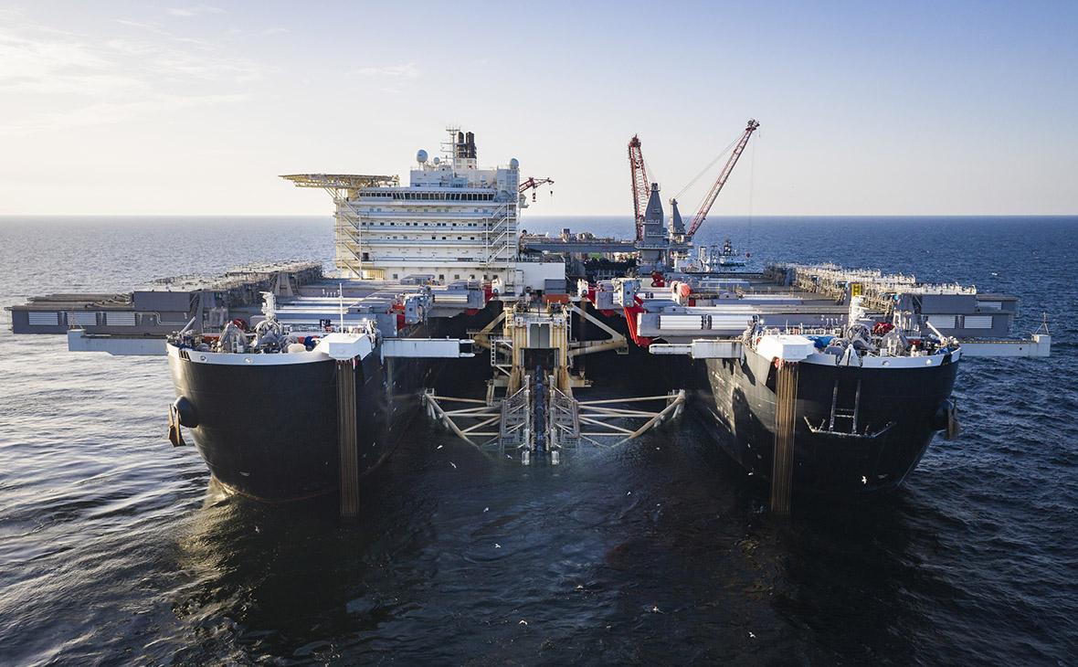 Фото:Axel Schmidt / Nord Stream 2