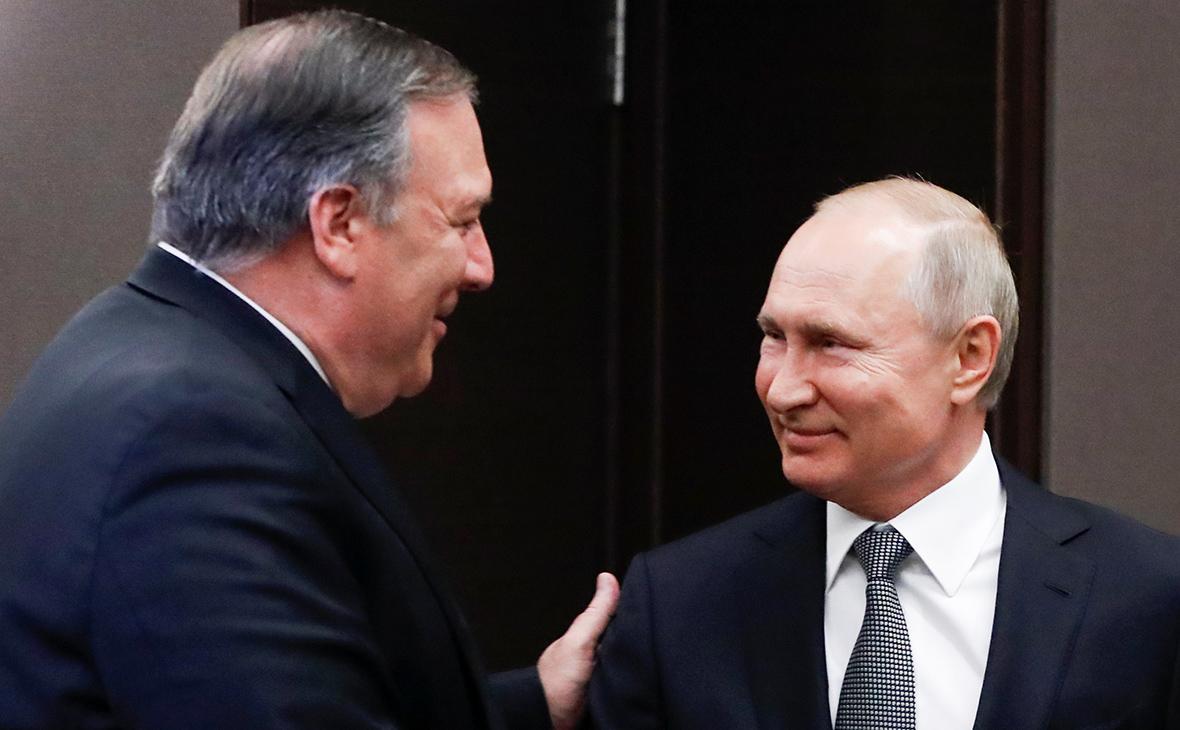 В сенате США предостерегли Помпео от уступок России