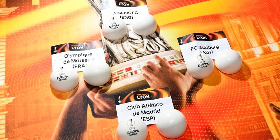 «Атлетико» попал на «Арсенал» в полуфинале Лиги Европы