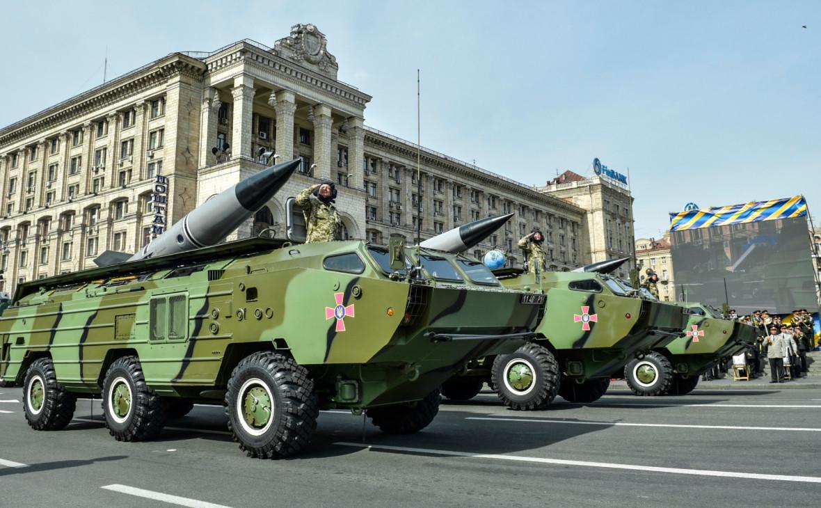Ракетные комплексы 9К79 «Точка-У» вооруженных сил Украины