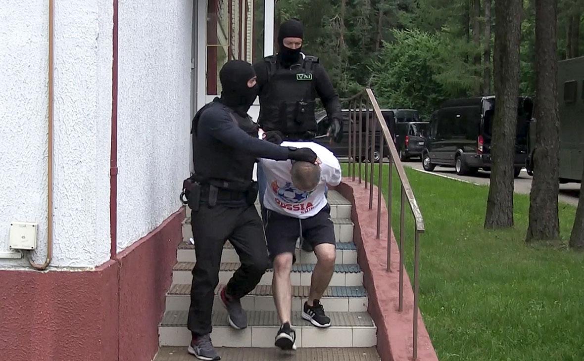 Фото:  КГБ Белоруссии / AP