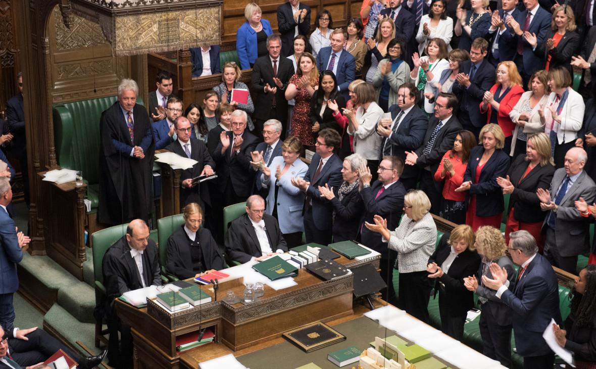 Палата общин отклонила предложение Джонсона о внеочередных выборах