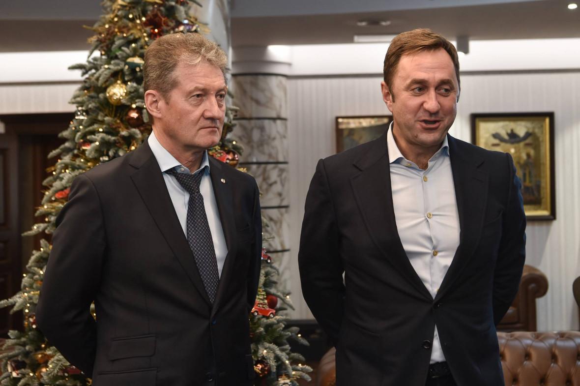 гендиректор УГМК Андрей Козицын и председатель совета директоров «Ультрамар» Андрей Бонч-Бруевич