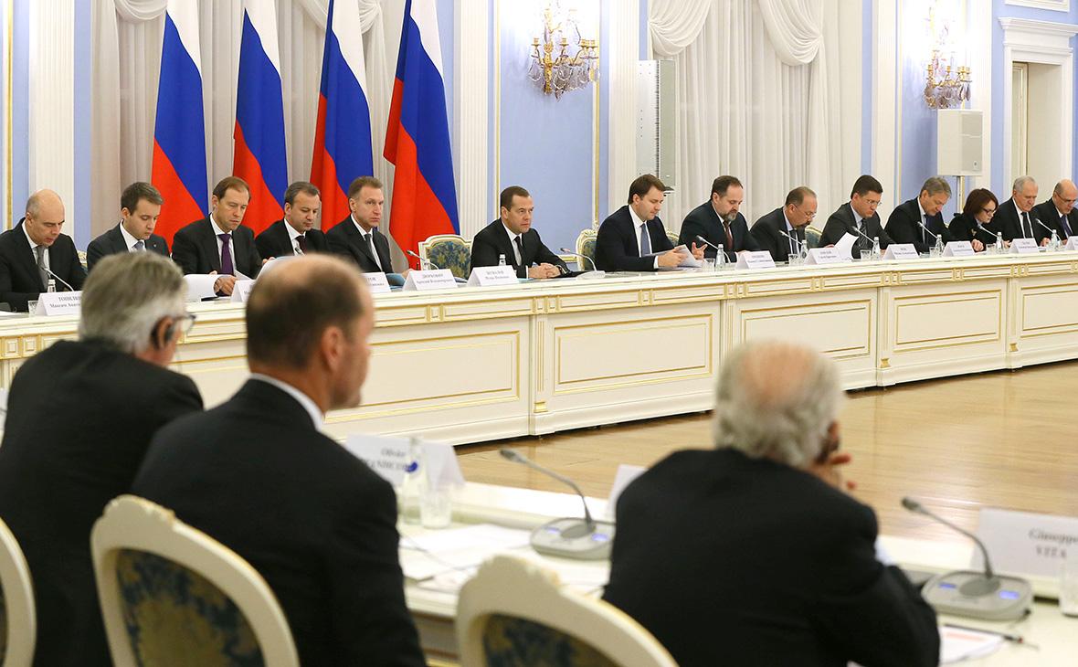 Дмитрий Медведев на заседании Консультативного совета по иностранным инвестициям