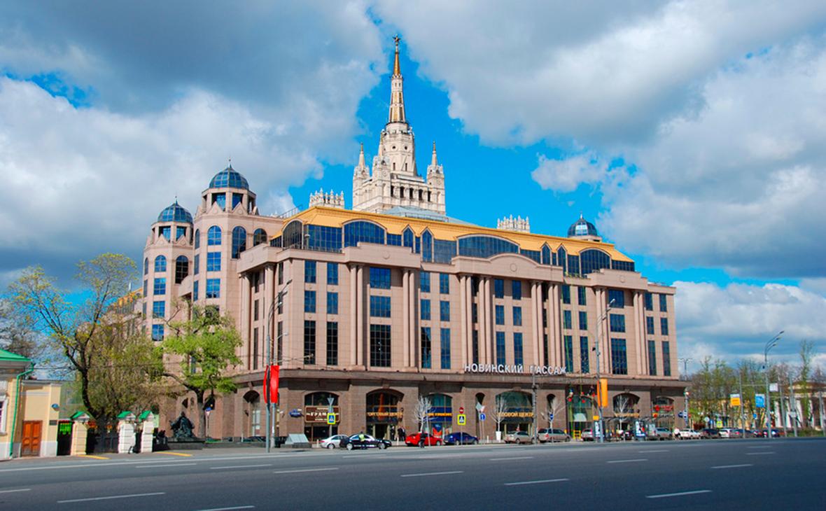 Офисно-торговый комплекс «Новинский пассаж»