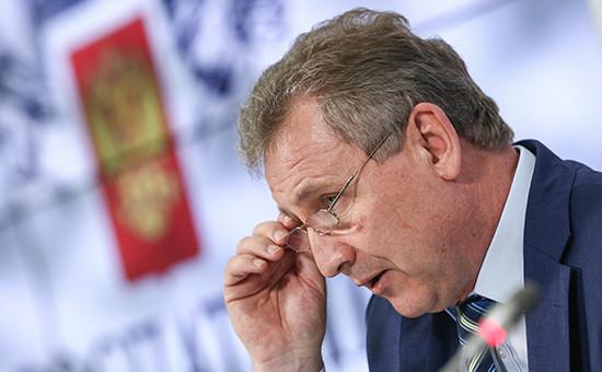 Руководитель Федеральной службы по интеллектуальной собственности (Роспатента) Григорий Ивлиев