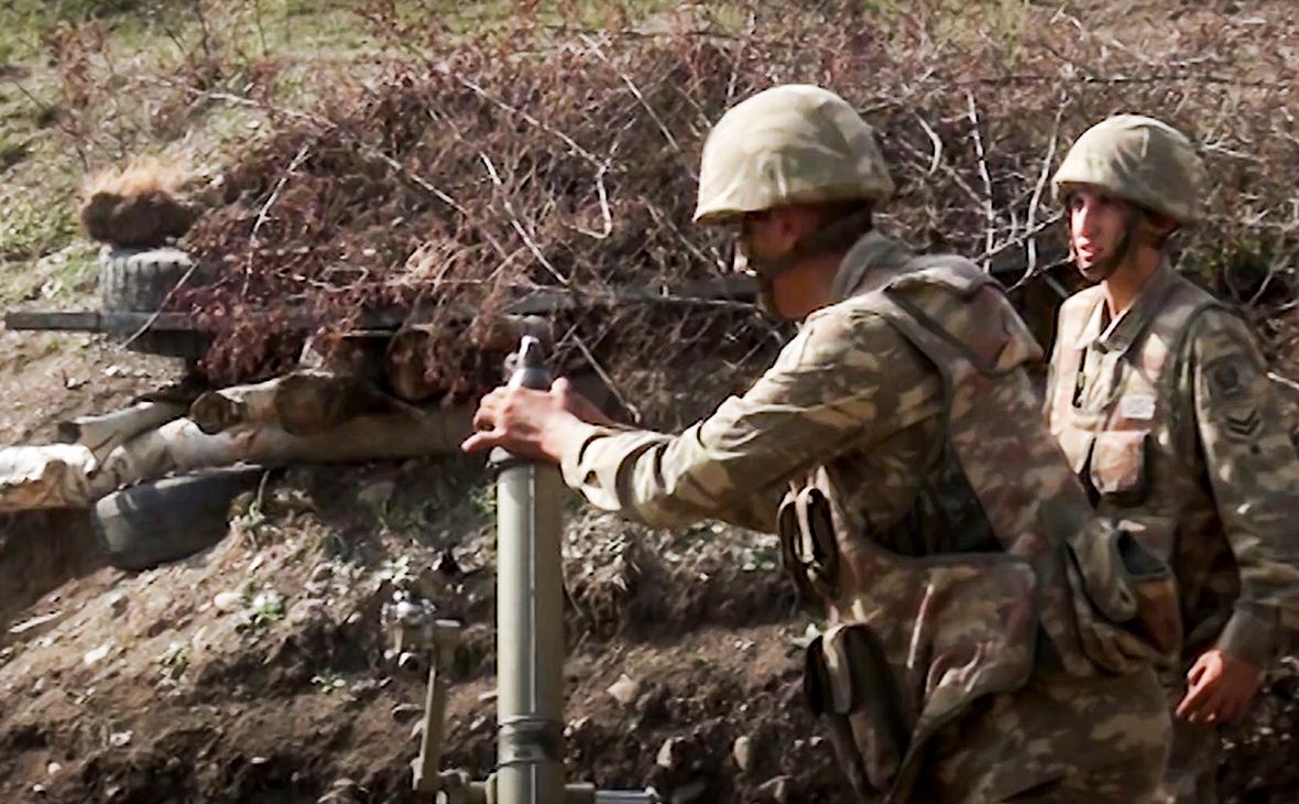 Бои между армянскими и азербайджанскими войсками
