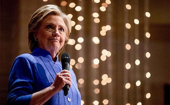 Кандидатв президенты США от Демократической партии Хиллари Клинтон