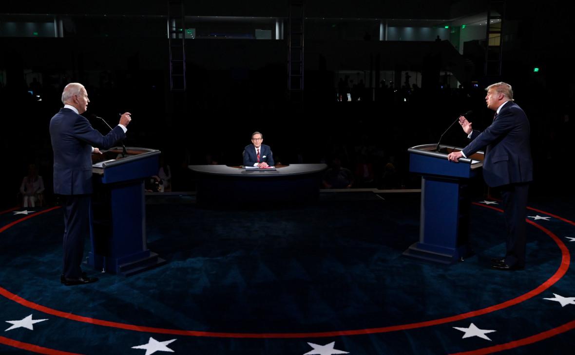 Трамп и Байден заочно поспорили об итогах первых дебатов