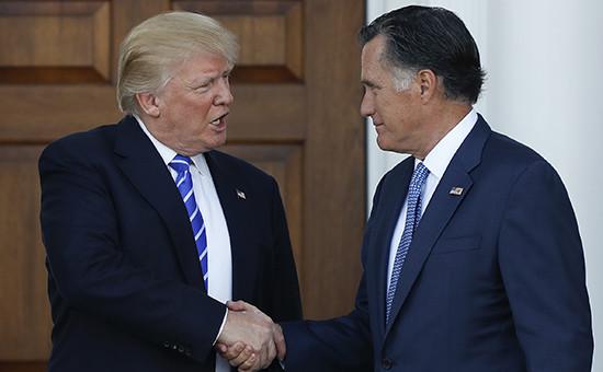 Дональд Трамп иМитт Ромни